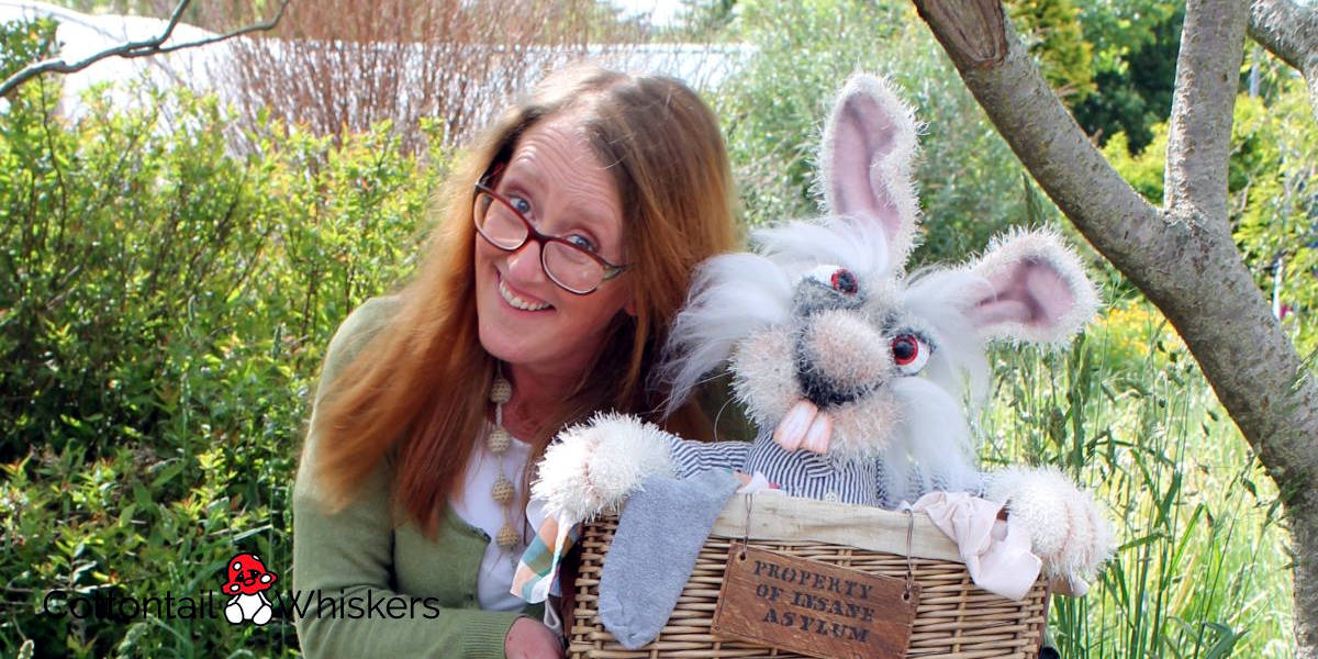 About cottontail and whiskers amigurumi crochet patterns