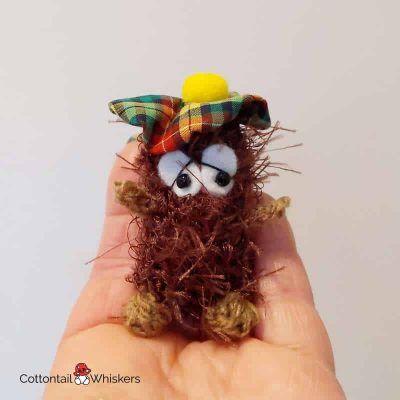 Neep haggis crochet pattern cottontail & whiskers amigurumi haggis patterns