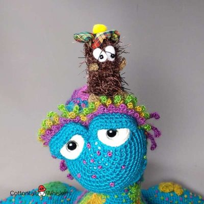 Neep Amigurumi Haggis Crochet Pattern by Cottontail and Whiskers