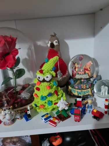 Cottontail Whiskers Chrsitmas Crochet tree Pattern Review by Ann