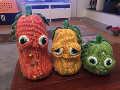 Crochet Amigurumi Pumpkin Pattern Review by Kylie Adams for Cottontail and Whiskers