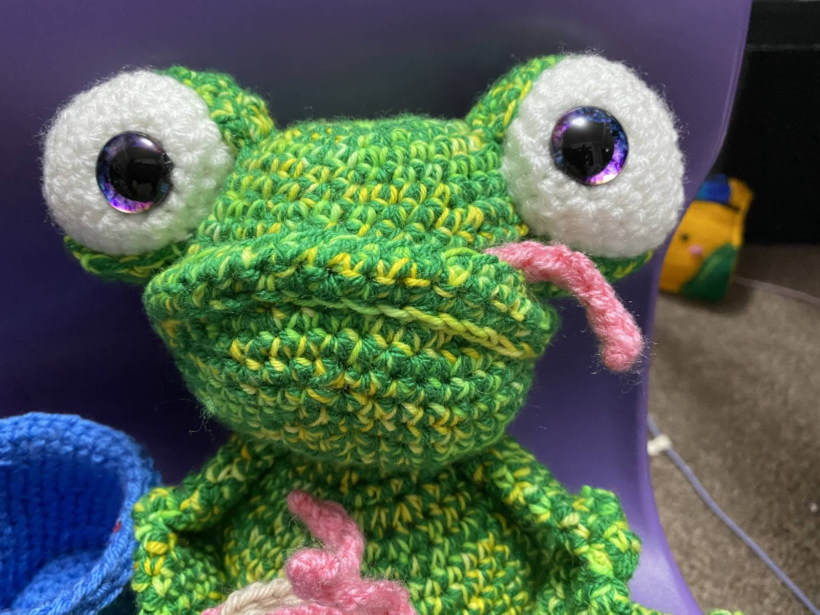 Frog Amigurumi Crochet Pattern Review by Joanne Zahler for Cottontail and Whiskers