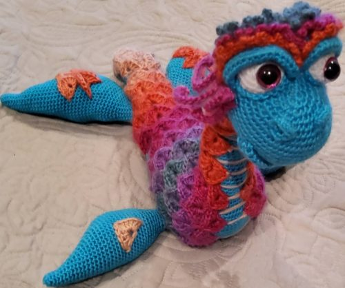 Nessie Amigurumi Pattern Review by Tracey Ferguson for Cottontail and Whiskers
